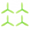 HQ Durable Prop  5X4.5X3V2  Light Green (2CW+2CCW)-Poly Carbonate