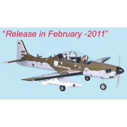 PROMO: Seagull Models Super Tucano 90size/ 20size gasoline [SEA124] (SOLD OUT)