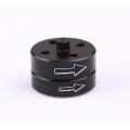 Black Quick Release Prop Adaptor Set for Multi-copter for counter clockwise motors FC123071 (SOLD OUT)