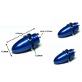 RC Model3.17mm Hole Blue Metal Propeller Adapter