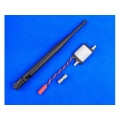 2.4G Radio Signal Amplifier / Signal Booster - Black
