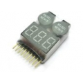 1-8Cell Battery Checker wtih Low voltage buzzer Alarm (SOLD OUT)