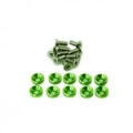 Secraft Servo Bolt Washer M3 (Colour Options: Green or Blue)