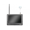 "Feelworld PVR718 7"" HD Video Monitor Wireless 5.8G Receiver 32ch Black"