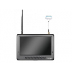 """Feelworld PVR718 7"""" HD Video Monitor Wireless 5.8G Receiver 32ch Black (SOLD OUT)"""