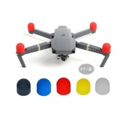 Soft Silicone Motor Protector Cover For DJI Mavic Pro (BLACK)