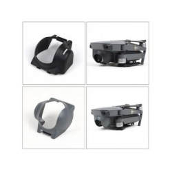 Camera Lens Sun Hood Sunshade Anti-Glare Camera Gimbal Protector for DJI Mavic Pro (GREY)