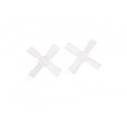 1735 43mm 4 Blade PC Propeller 1.5mm Hole For 11xx Motors Micro FPV Racing Frame white