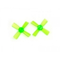 1735 43mm 4 Blade PC Propeller 1.5mm Hole For 11xx Motors Micro FPV Racing Frame green