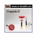 2pcs EMAX Pagoda 2 FPV Antenna 5.8GHz RC FPV Antenna Omni Directional Omni RHCP SMA