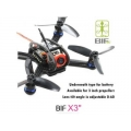 Lantian BIFRC X3 130 Mini Racing 4 Axies FPV Quadcopter Drone 2.5mm F3 Brushless ESC with FRSKY