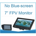 7 inch 800x480 Resolution FPV Monitor with Light Shield for FPV Application