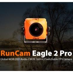 RunCam Eagle 2 Pro Global WDR OSD Audio 800TVL CMOS FOV 170 Degree 16:9 4:3 Switchable FPV Camera