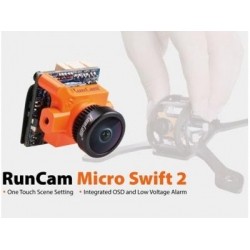 RunCam Micro Swift 2 600TVL 2.1mm FOV 160Degree 1/3'' CCD FPV Camera with Built-in OSD PAL