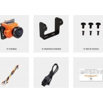 RunCam Micro Swift 2 600TVL 2.1mm FOV 160Degree 1/3'' CCD FPV Camera with Built-in OSD PAL