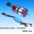 Walkera 380 Inrunner Brushless motor + 40A ESC