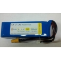 Hyperion G3 Cx 2500 Mah 3s 11.1v 25c/45c Lipoly Pack W/xt-60 and Jst-xh Balance Tap (Suitable for DJI Phantom) [SOLD OUT]