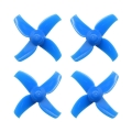 4-blade 31mm Props (0.8mm Hole) Blue