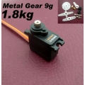 Rctimer TS-9018MG Metal Gear Servo 2.5kg/13g/0.10 (SOLD OUT)
