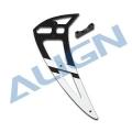 700E PRO Carbon Fiber Vertical Stabilizer-White