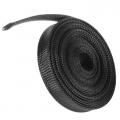 12mm Wire mesh 1m Guard braided PET Expandable BLACK