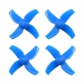 40mm 4-blade 2S Whoop Propellers (1.5mm Shaft Hole) blue