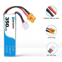 BETAFPV 350mAh 2S Lipo Battery (1PCS)(SOLD OUT)