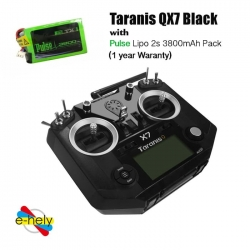 Taranis QX7 with Lipo 2s 3700mah (1 year Waranty)