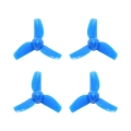 3-Blade 31mm Props (0.8mm Hole) Blue