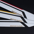 GRYPHON HIGH PERFORMANCE 700MM CF BLADES (GMB-700RX-FBL)