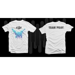 DJI Team Pilot T shirt (Available in Size M or L)
