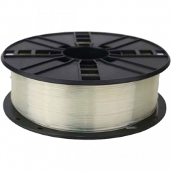 3D PRINTER PLA FILAMENT, 1.75MM, 0.5KG (CLEAR/TRANSPARENT)