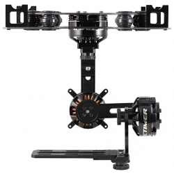 Black ASP 3-Axis Nex-GH5 Brushless Gimbal