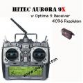 Hitec Aurora 9X 9-Channel SLT 2.4GHz Tx/9-Channel Rx (SOLD OUT)