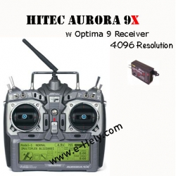 Hitec Aurora 9X 9-Channel SLT 2.4GHz Tx/9-Channel Rx (SOLD OUT)