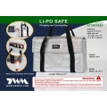 Li-Po Battery Safe Bag Fireproof Charging/Carrying/Storage Case TWM SIZE-S5 (SOLD OUT)