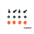 Flight Controller CNC Dampening Set M3 - BLACK