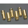 Castle Creations 5.5mm High Current Bullet Connector Set [CCBUL5.5x3]  (DISCONTINUED REPLACED WITH HYPERION BRAND]