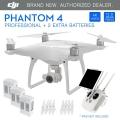 DJI Phantom 4 with 2 extra batteries (total 3pc batre) [Rp21,800,000]