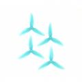 HQ DURABLE PROP 5.1X4.1X3 LIGHT BLUE (2CW+2CCW)-POLY CARBONATE