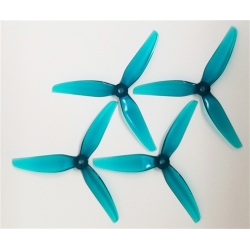 HQ Durable Prop  5.1X4.6X3 Light Teal (2CW+2CCW)-Poly Carbonate-POPO