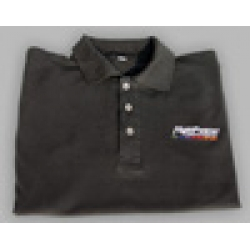 FLIGHTPOWER POLO SHIRT BLACK [FPPOLO]