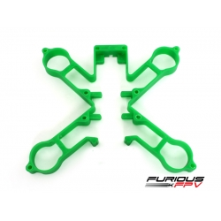 Plastic main frame (Green) - Toretto 130