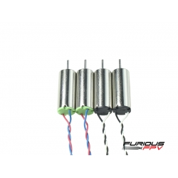 Furious FPV Supersonic 6x15mm 19000KV brushed motors (2CW & 2CCW) for Inductrix (SOLD OUT)