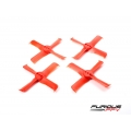 FleekProp 1936-4 Propellers (2CW - 2CCW) - Red (SOLD OUT)