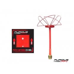 Circular Antenna RHCP 2.4 GHz SMA and Patch antenna 2.4GHz - SMA