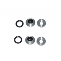 FUA-003S Silver metal grommet 450 size helicopters