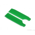 FUB-4504GR FUSUNO Extreme Stiff XS Engineering Plastic Tail Blade 62 mm Neon Green - Trex 450
