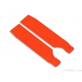 FUB-5005OR FUSUNO Extreme Stiff XS Engineering Plastic Neon Tail Blade 72 mm - Orange - 500 size helis (SOLD OUT)