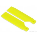 FUB-S506YL FUSUNO Extreme Stiff XS Engineering Plastic Tail Blade 95 mm - Neon Yellow - Size 50